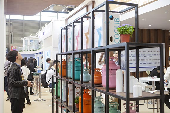 3. The Starget Refrigerant products in the 30th Shanghai international exhibition for refrigerantion